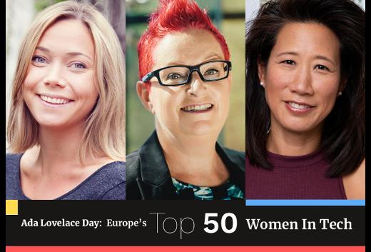The Top 50 Women In Tech 2018